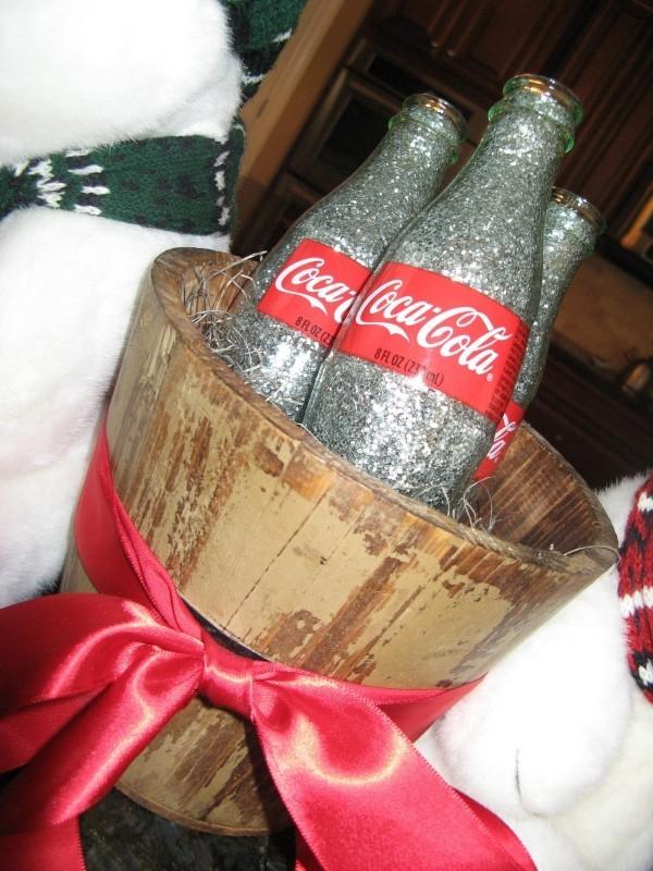 DIY Χριστουγεννιάτικη διακόσμηση από γυάλινα μπουκάλια15