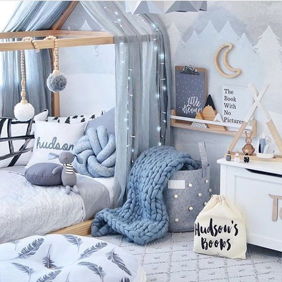ιδέες με φωτάκια για το παιδικό δωμάτιο13