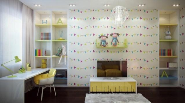 Μοντέρνα σχεδίαση παιδικού δωματίου16