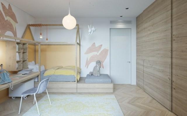 Μοντέρνα σχεδίαση παιδικού δωματίου17