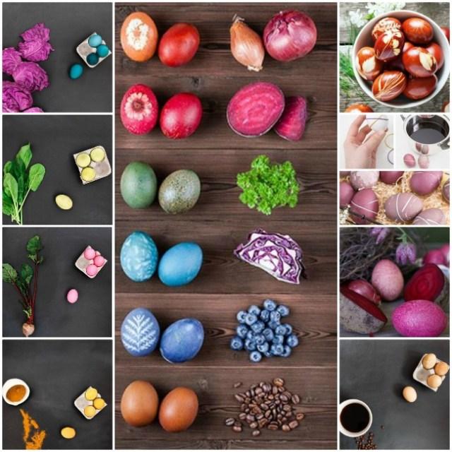 Φυσικοί τρόποι βαφής Πασχαλινών αυγών