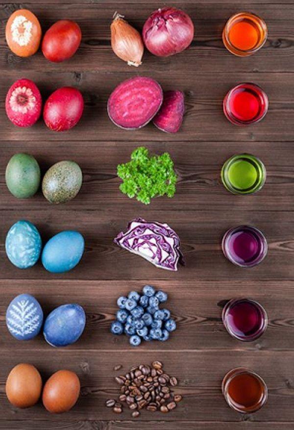 Φυσικοί τρόποι βαφής Πασχαλινών αυγών5