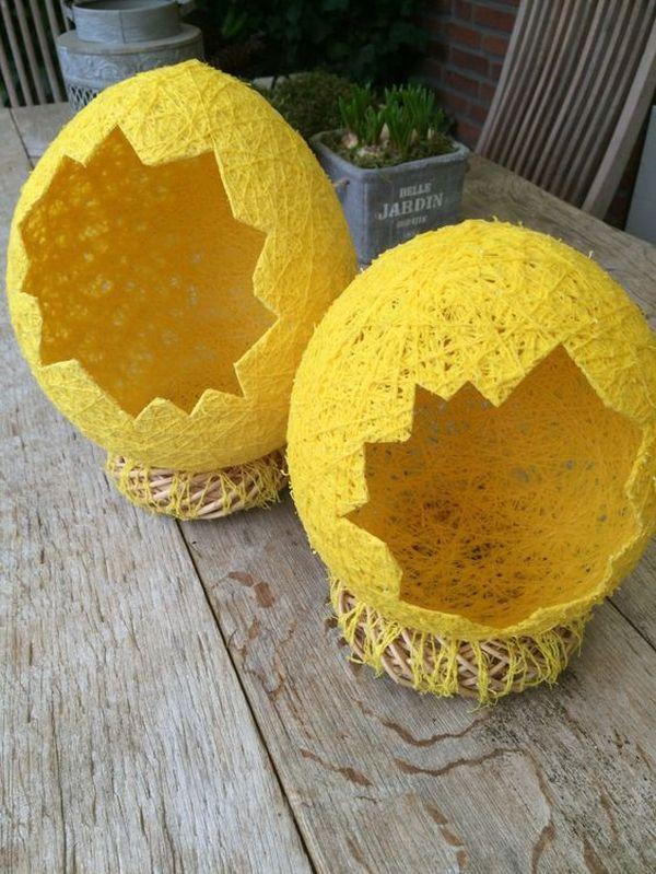 texnotropies.info Πασχαλινά διακοσμητικά αυγά από νήματα12