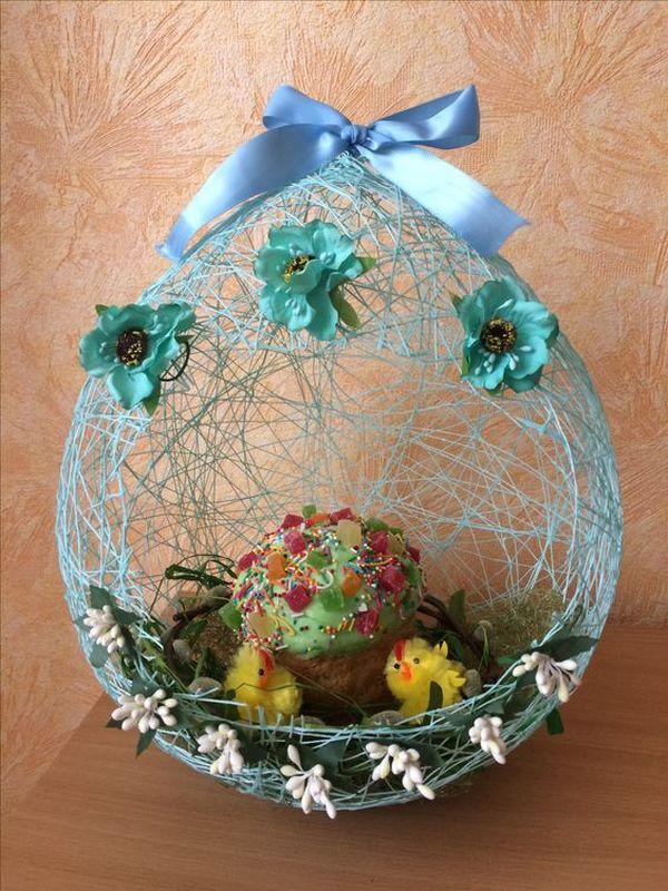 texnotropies.info Πασχαλινά διακοσμητικά αυγά από νήματα15