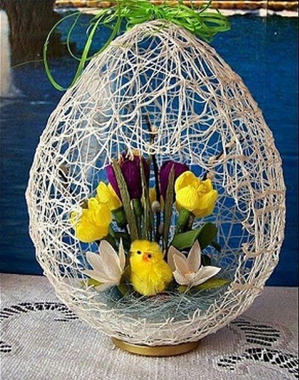 texnotropies.info Πασχαλινά διακοσμητικά αυγά από νήματα2
