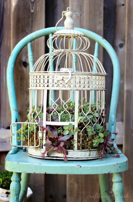Κλουβιά πουλιών σαν γλάστρες5