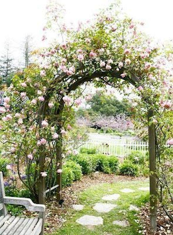 ιδέες από καμάρες κήπου13