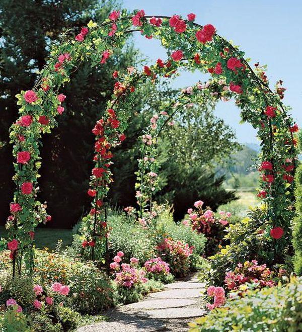 ιδέες από καμάρες κήπου6