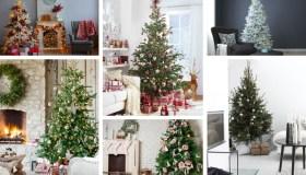 τάσεις διακόσμησης Χριστουγεννιάτικου δέντρου