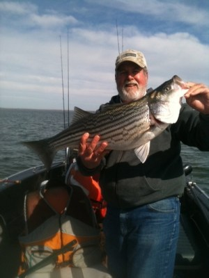 Roger Hill Lake Texoma Fishing Guide