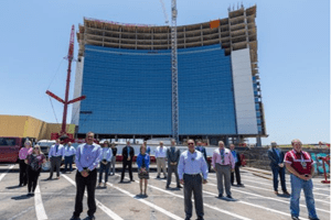 Choctaw Casino & Resort Topping Out Ceremony