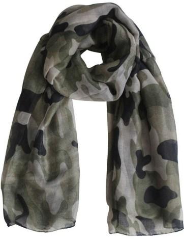 шарф женский милитари оптом