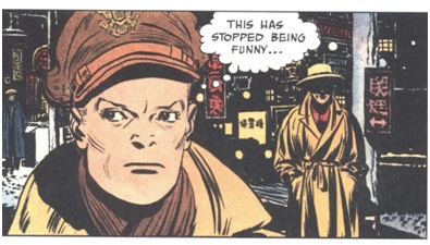 comic panel showing the character of Terry