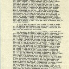 Report on the Funeral of General Patton, 12/24/1945 p2