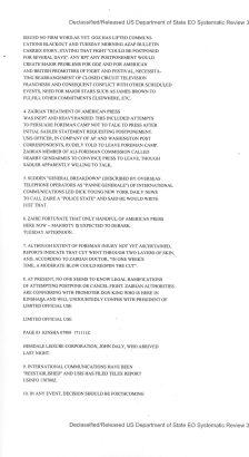 Telegram from American Embassy Kinshasa re: Ali-Foreman Fight Faces Possible Postponement, 9/17/1974