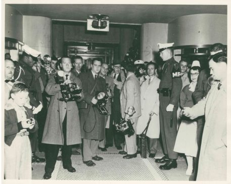 Uncaptioned and undated photograph of the press.