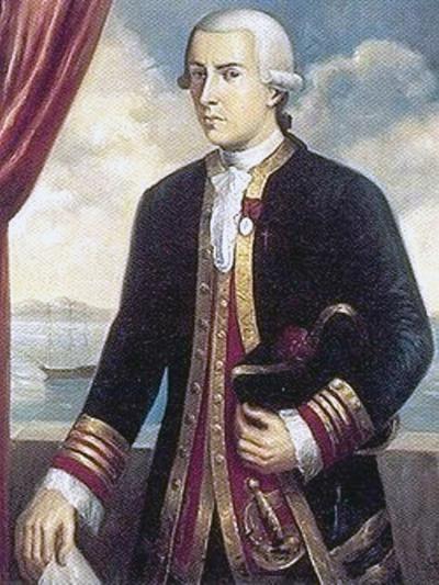 Portrait of Juan Francisco de la Bodega y Quadra.