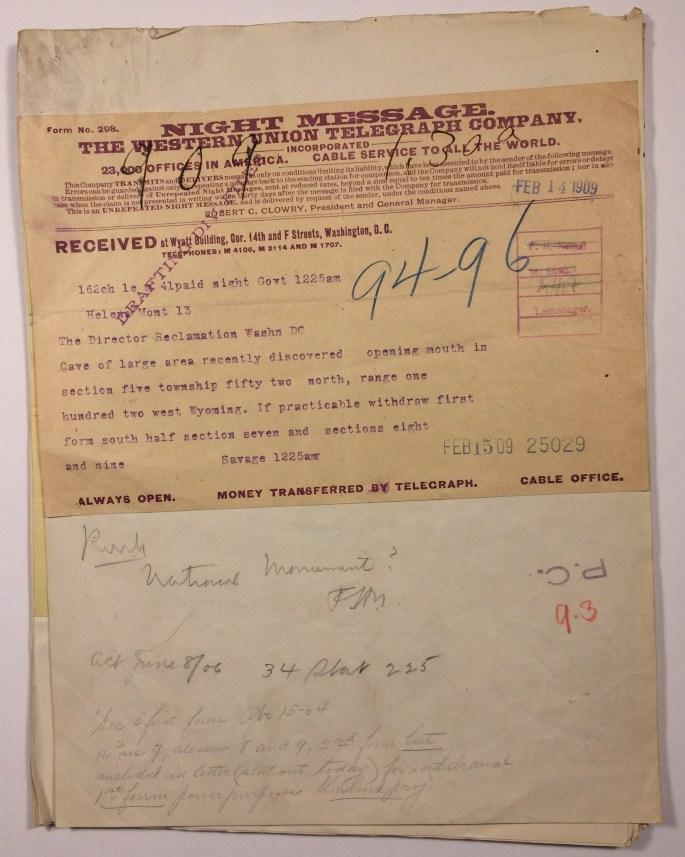 Image of Feb. 14 Telegram