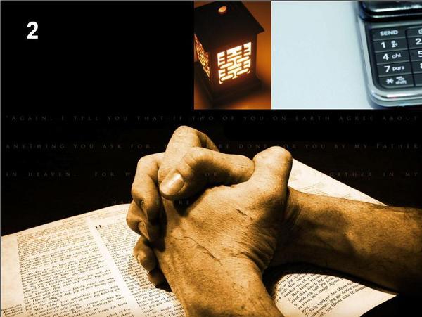 La prière, présence et réponse de l'homme à Dieu
