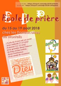 L'affiche de l'EDP 2018 à Monteils