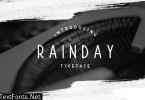 Rainday Font