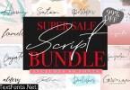 Font Bundle Sale /60 in One 3737921