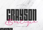 Grayson Boutique - Font Duo 2631912