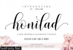 Honilad Calligraphy Typeface 1042175