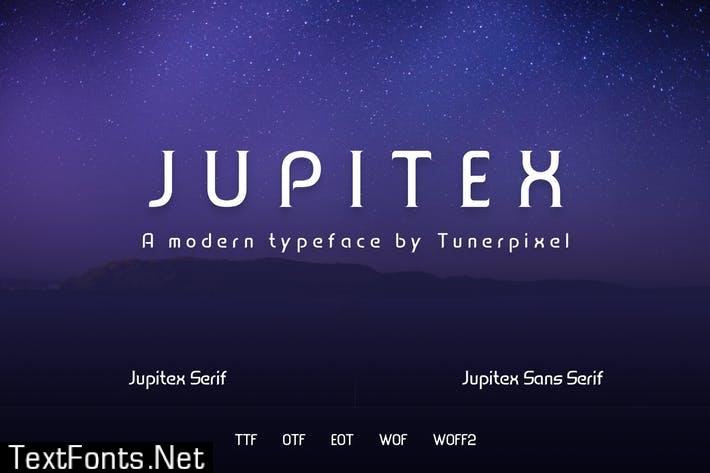 Jupitex - A Modern Font