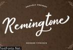 Remingtone Beautiful Calligraphy Font