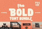 The Bold Font Bundle 4366086