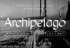 Archipelago Font