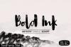 Bold Ink Font