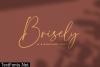 Brisely Font