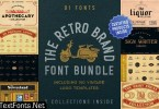 The Retro Brand Font Bundle 3590884 VFX