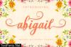 Abigail Script Font