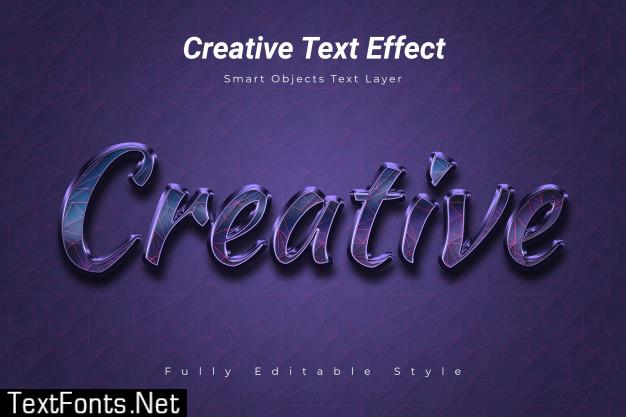 Creative text effect