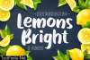 Lemons Bright