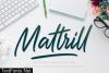 Mattrill Font