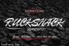 Ruckshack Font