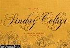 Sinday College Font
