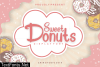 Sweet Donuts Font