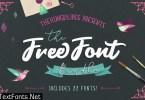 TheHungryJPEG - The Font Bundle