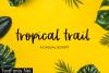 Tropical Trail Font