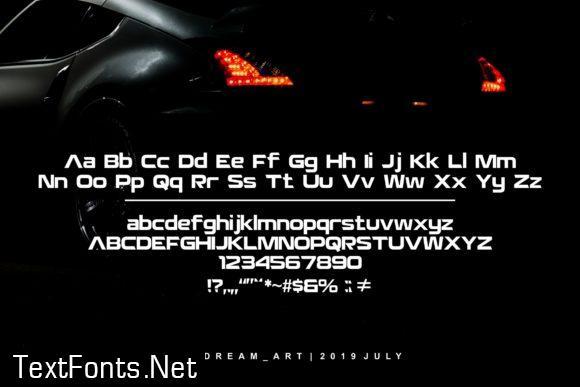 Autovol Font