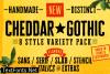 Cheddar Gothic Font