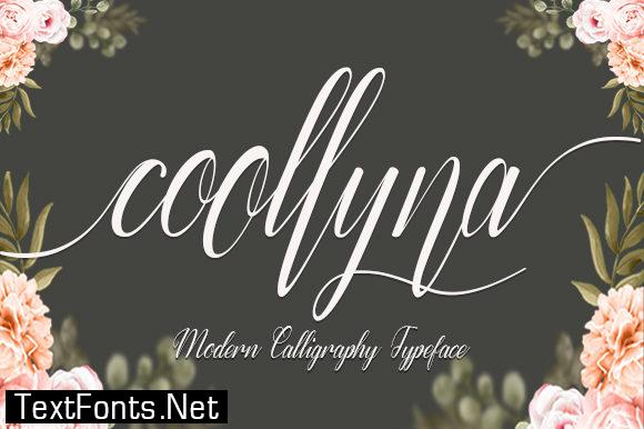 Coollyna Font