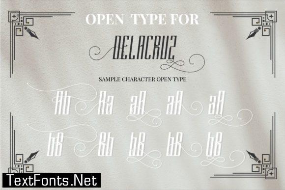 Delacruz Font