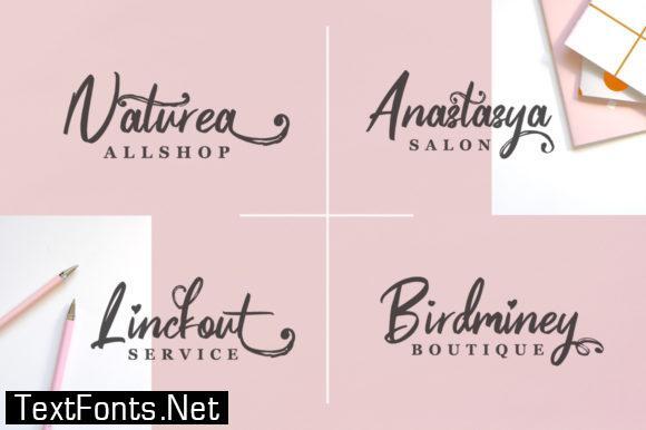 Pinkalova Font