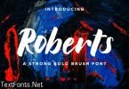 Roberts Font
